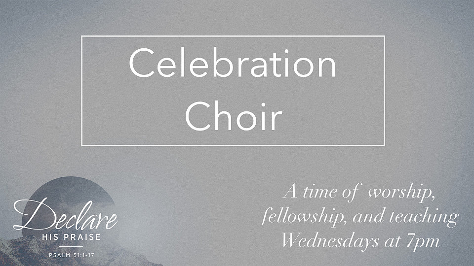 celebration choir promo