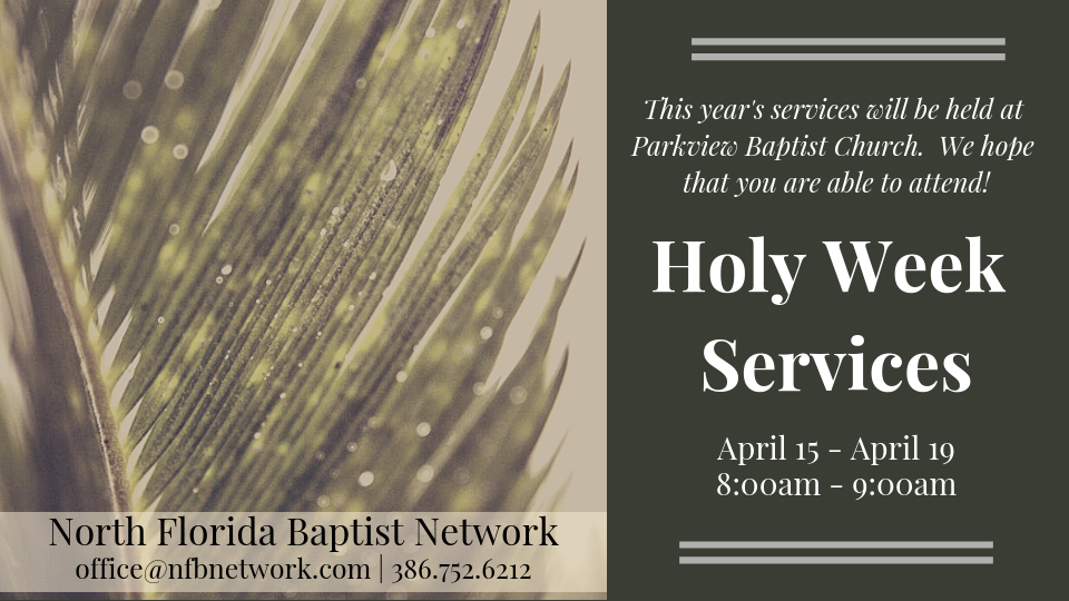 copy of holy week services